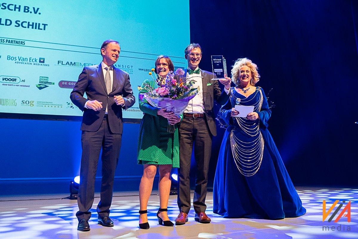 Merosch ontvangt Ondernemersprijs Midden-Holland